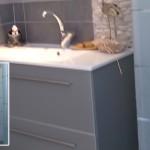 ארון אמבט סגנון מודרני 028